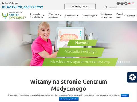 Ortooptymist.pl medycyna sportowa Lublin