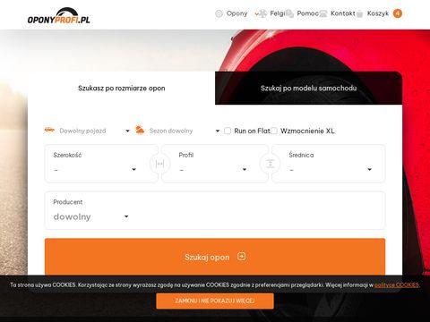 Oponyprofi.pl internetowy sklep