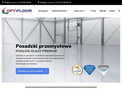 Optifloor.pl posadzki przemysłowe