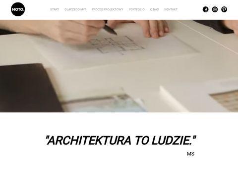 Biuro architektoniczne Warszawa - noto.studio