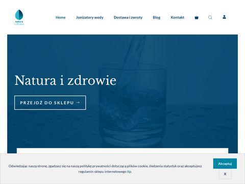 Natura-zdrowie.pl zjonizowana woda