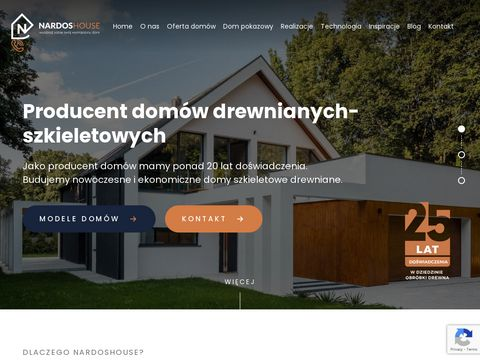 Nardoshouse.com producent domów z drewna