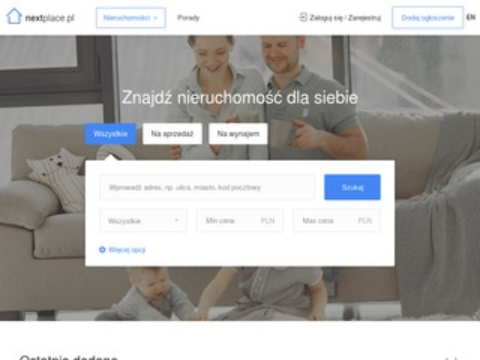 Nextplace.pl nieruchomości ogłoszenia