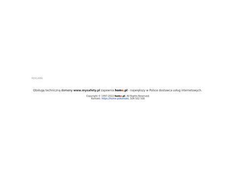 Mysafety.pl ochrona twoich przedmiotów