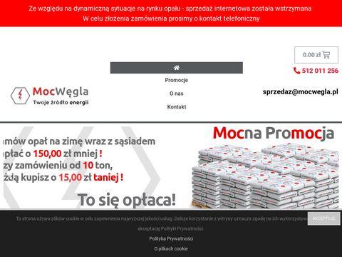 Mocwegla.pl ekogroszek workowany i luzem Katowice