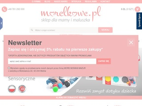 Morelkowe.pl zabawki dla maluszka