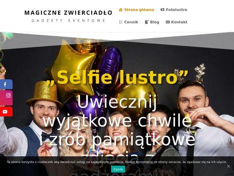 Magiczne-zwierciadlo.pl fotobudka Warszawa