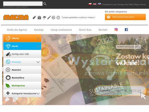 Artykuły reklamowe z nadrukiem - macma.pl