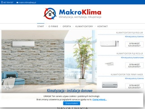Makroklima.pl montaż rekuperacji