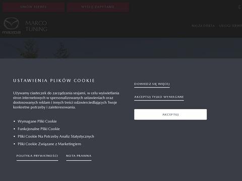Mazda.opole.pl serwis Marco Tuning