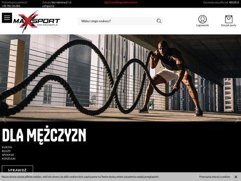 Maxxxsport.pl dresy sportowe