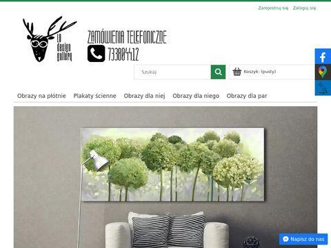 Obrazy na płótnie nowoczesne ludesign-gallery.pl