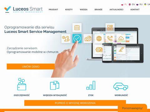 Luceossmart.com zarządzanie pracownikami w terenie