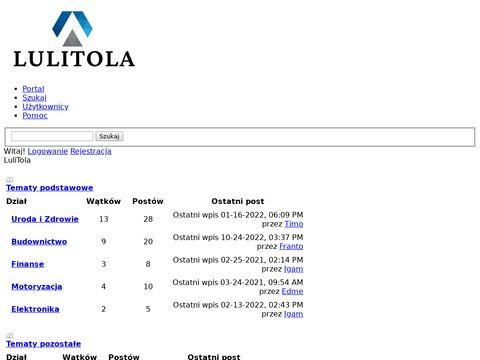 Lulitola.pl pościel kocyki dziecięce