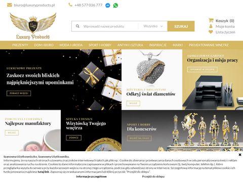 Luxuryproducts.pl ekskluzywne produkty do domu