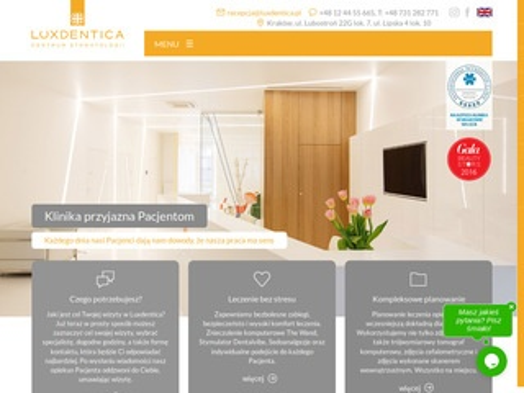 Luxdentica.pl centrum stomatologii