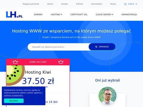 LH.pl - rejestracja domen