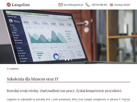 Langolian.pl kurs VBA