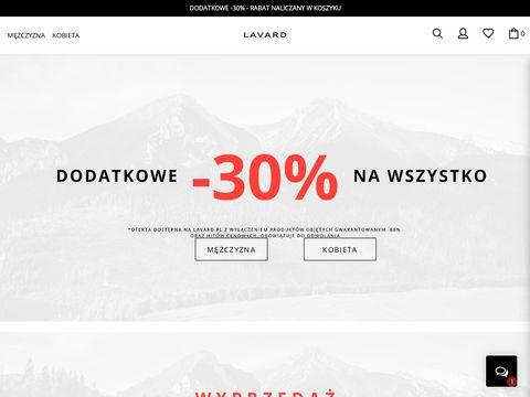 Lavard.pl sklep online z odzieżą męską
