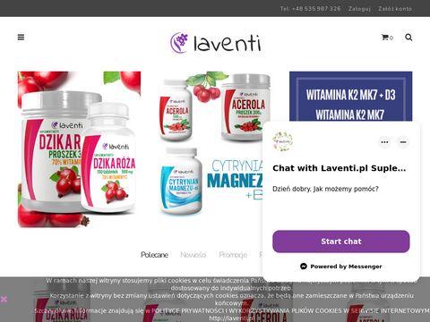 Laventi.pl naturalne suplementy diety