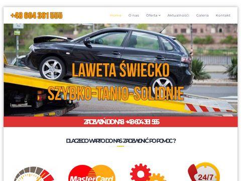 Laweta-swiecko.com.pl