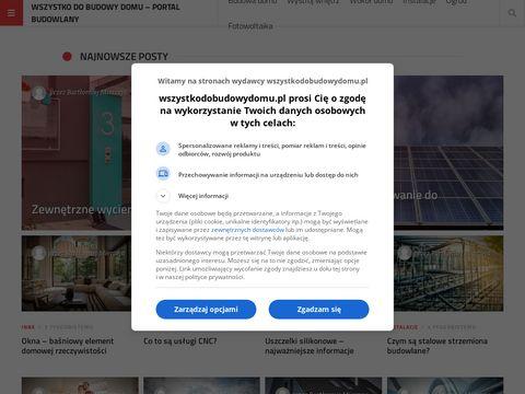 Wszystkodobudowydomu.pl aranżacje wnętrz
