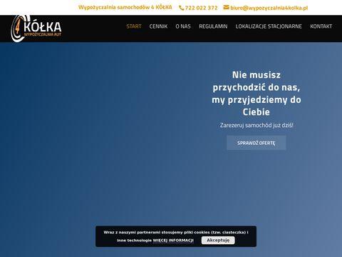 Wypozyczalnia4kolka.pl wynajem aut Kraków