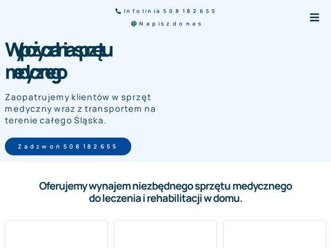 Wypozyczalniamilmed.pl łóżek rehabilitacyjnych