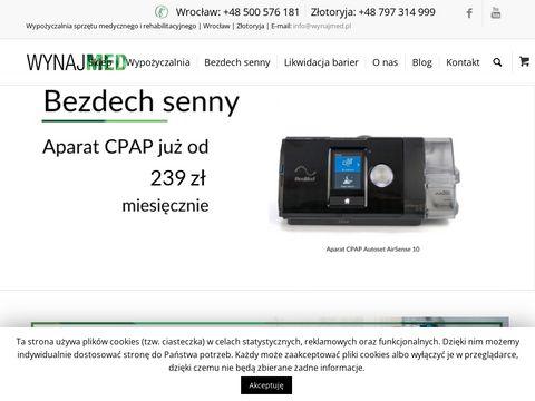 Wynajmed.pl wypożyczalnia sprzętu medycznego