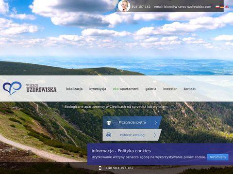 W-sercu-uzdrowiska.com apartamenty Jelenia Góra