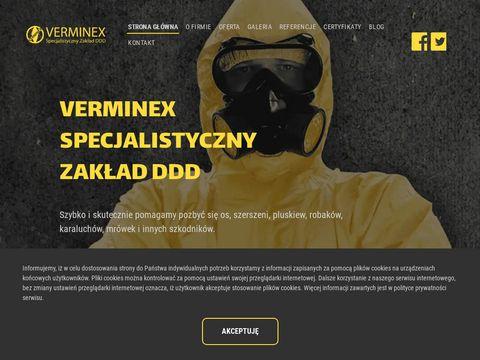 Verminex.pl dezynfekcja mieszkań po zmarłych