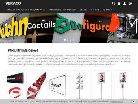 Veraco.pl systemy wystawiennicze Trójmiasto