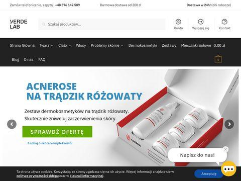 Kremy naturalne na worki pod oczami - verdelab.pl