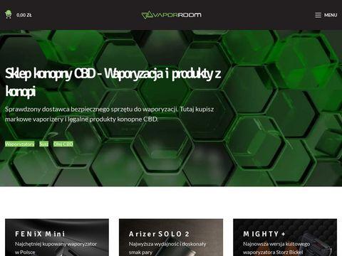 Vaporroom.pl sklep CBD z waporyzatorami