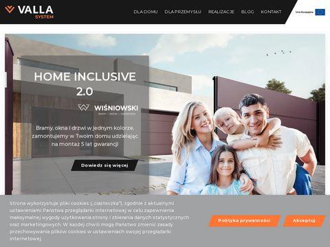 Valla.pl przesłony ogrodzeniowe odwiedź nas