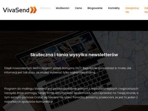 Vivasend.pl email marketing