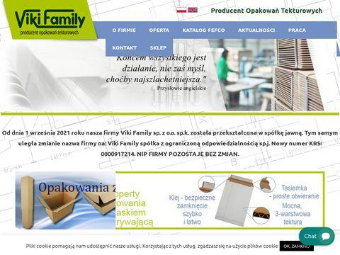 Viki.com.pl opakowania kartonowe Warszawa